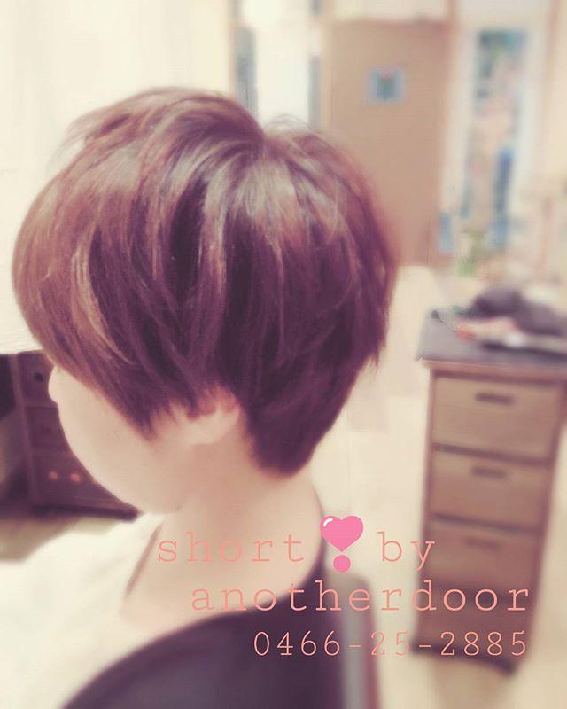 可愛いショート。。増えてます。。#藤沢#美容室#ショートヘア#秋のにおい