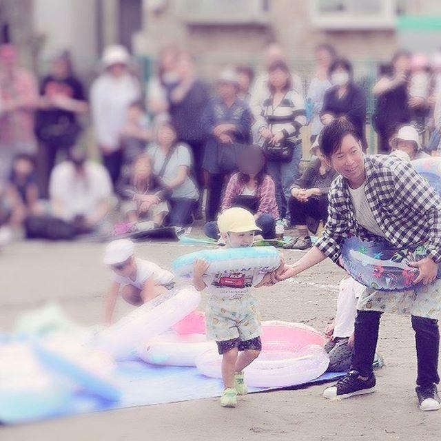 昨日は子供の運動会。入園いらい初めて参加。晒し者感が半端ない。#藤沢#美容室#子供#運動会