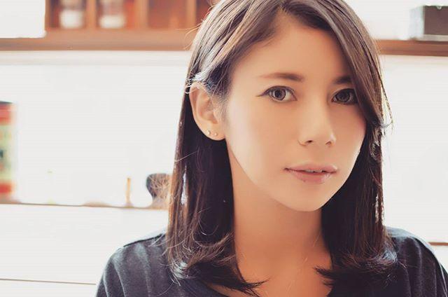 ストレートヘアonサファイアカラー#藤沢#美容室#人気#ヘアカラー
