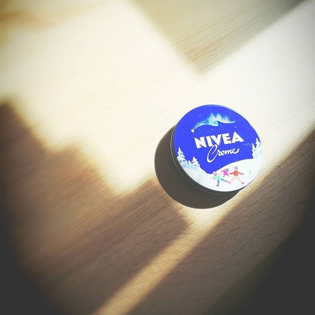 冬だけお世話になります。#藤沢#美容室#NIVEA#手荒れ #冬缶が欲しいだけ
