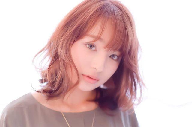 スプリングミディ!ピンクベージュをのせて!#ミニキャン東京#藤沢#美容室#アナザードア#髪型#ヘアスタイル#カラー#ヘアカラー#デジパー